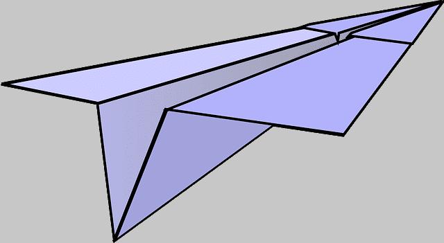 papierflieger basteln papierflugzeug anleitungen kostenlos. Black Bedroom Furniture Sets. Home Design Ideas