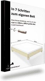 bett selber bauen kostenlose bauanleitungen und baupl ne. Black Bedroom Furniture Sets. Home Design Ideas
