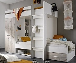 hochbett bauen 121 kostenlose bauanleitungen. Black Bedroom Furniture Sets. Home Design Ideas