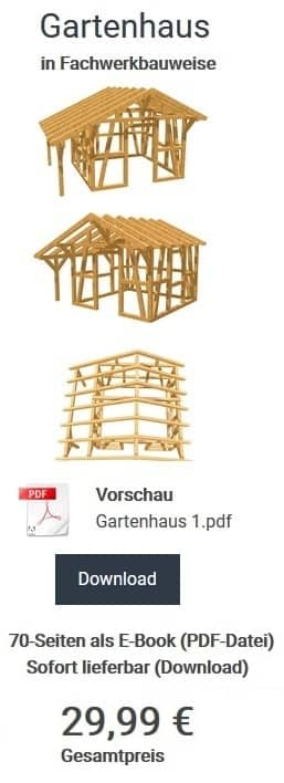 gartenhaus selber bauen kostenlose bauanleitungen. Black Bedroom Furniture Sets. Home Design Ideas