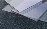 Platte aus Polycarbonat UV klar riesen Auswahl div. Größen und Stärken Top Qualität von alt-intech® (PC 2 mm UV, 400 x 400)