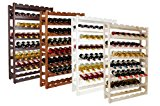 Impag® Weinregal für 56 Flaschen Natur