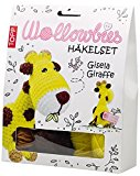 Wollowbies Häkelset Gisela Giraffe: Anleitung, Steckbrief und Material für eine witzige Häkelgiraffe