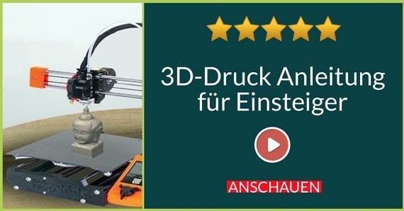 3D Druck Online Kurs für Anfänger